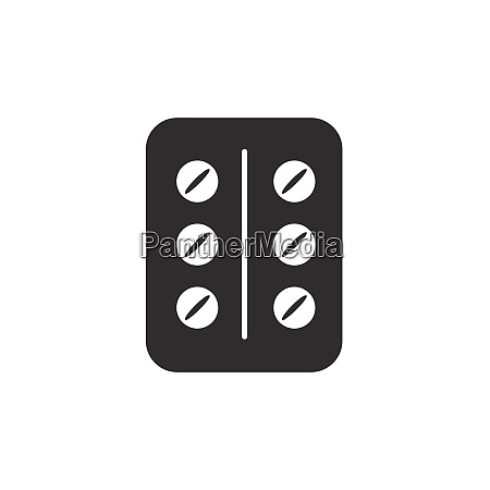 pack of pills flat pharmacy and