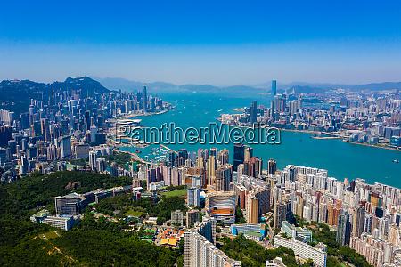 hong kong 22 september 2019 aerial
