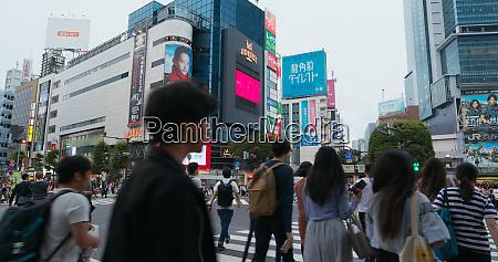 tokyo japan 28 june 2019 shibuya