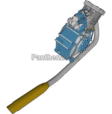 pumpenmaschine vektor oder farbabbildung