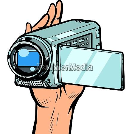 tragbare handkamera