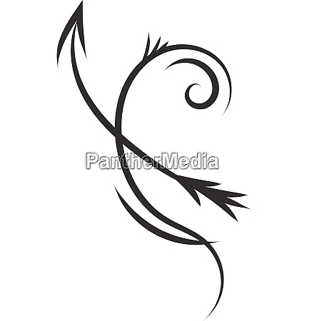 simple black and white tattoo sketch