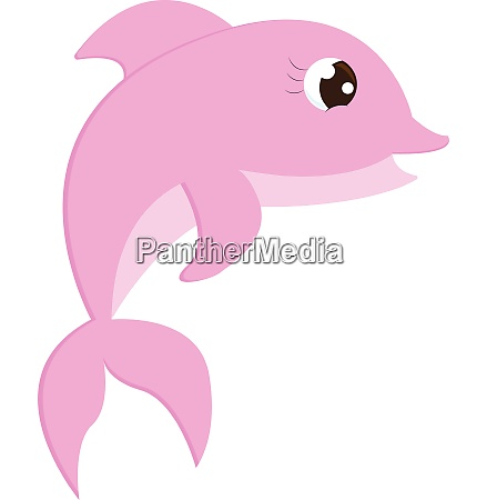 a cute little pink colored cartoon