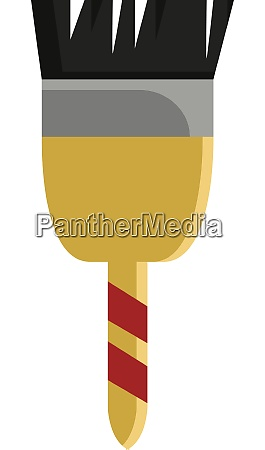 a small paint brush vector or