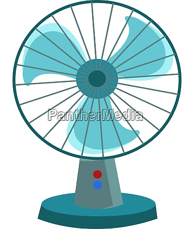 a red hand fan vector or
