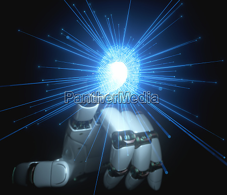 digital security artificial intelligence and robotic