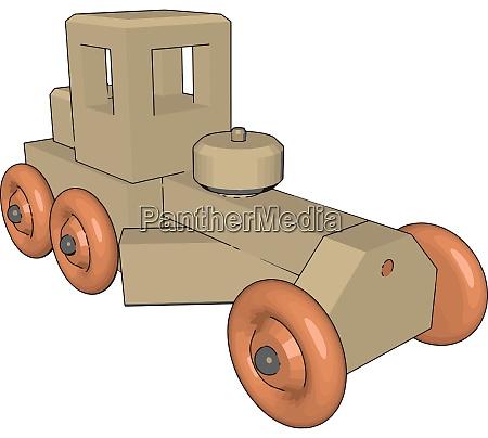 retro auto spielzeug illustration vektor auf