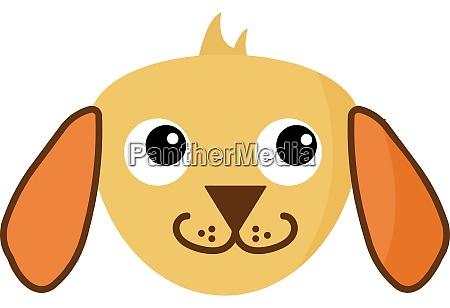 netter hund illustration vektor auf weissem