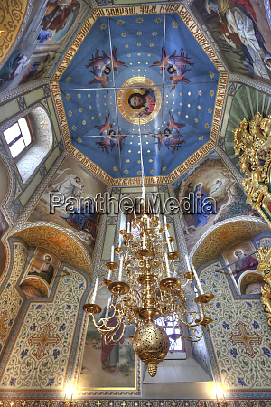 ornate and decorative interior of a