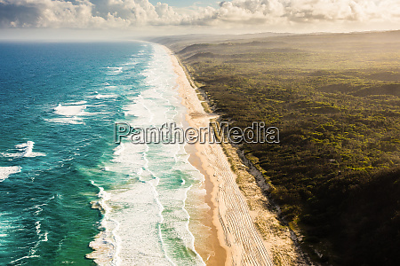 aerial view of great sandy national