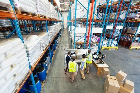 lager lagerhaus fabrik arbeitsplatz supervisor manager