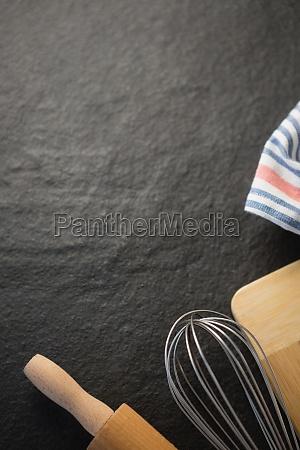 abgeschnittenes, bild, von, küchenutensilien - 27588646