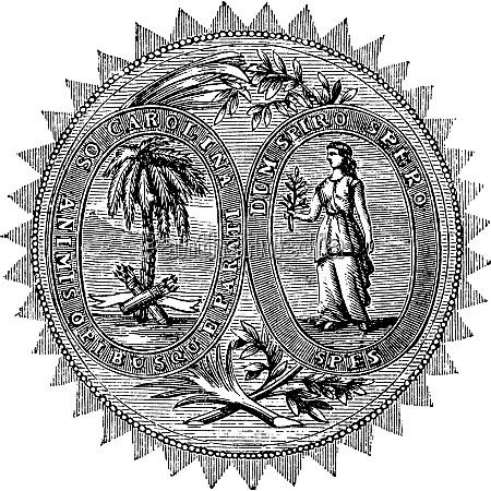 great seal or hallmark of south