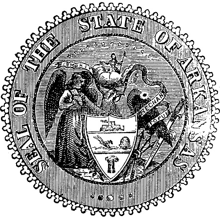 siegel von arkansas vor 1907 alte