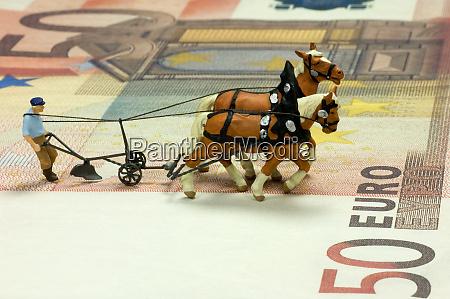 pflueger zahl auf einer 50 euro