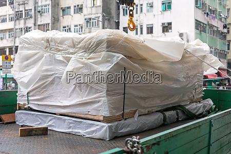 cargo truck lieferung