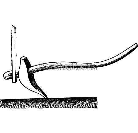 pflug chatrakal vintage gravierte illustration industrielle
