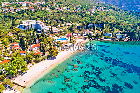 adriatic village of mlini waterfront and