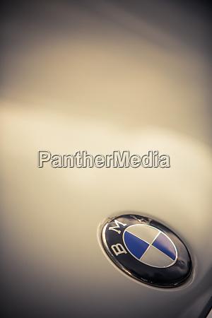 bmw auto logo detail