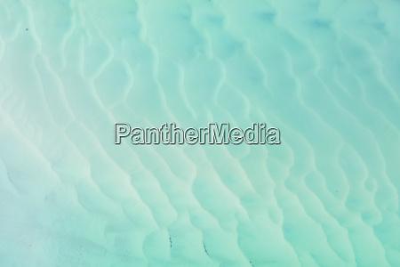 abstrakte luftaufnahme ueber sand und wasserlandschaft