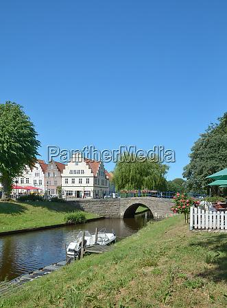 friedrichstadt an der treene in nordfriesland