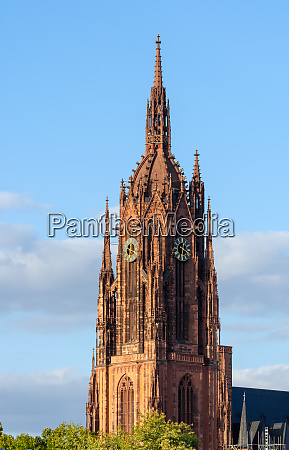 tower of the kaiserdom cathedral in