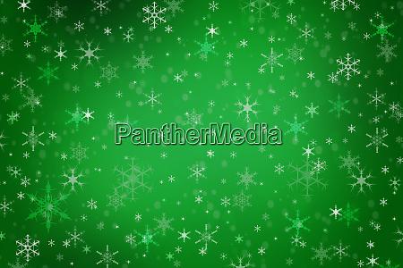abstrakte gruene weihnachten winter hintergrund