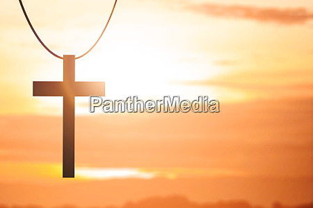 bild des christlichen kreuzes