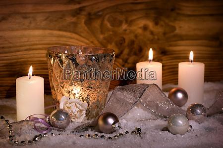 dekoration zur weihnachtszeit
