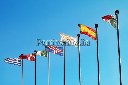 europaeische flaggen
