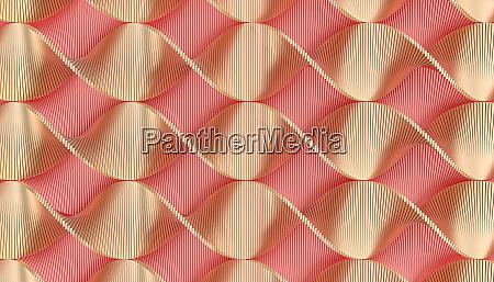 geometrischen hintergrund mit rosa und gold