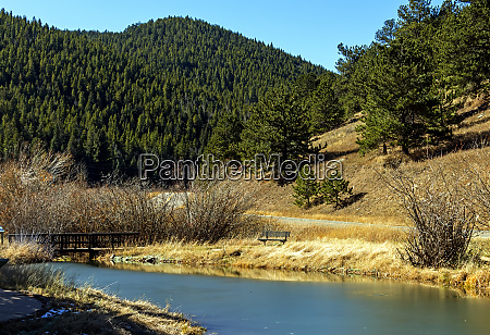 schoene landschaft in colorado