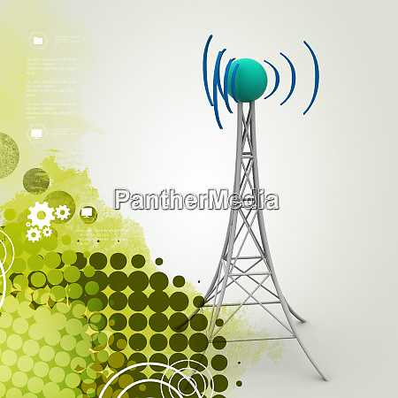 signalturm mit vernetzung