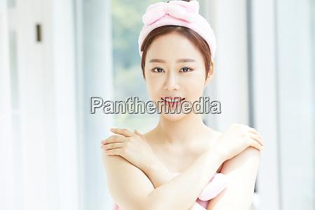 women beauty skin care