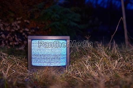 tv kein signal im gras