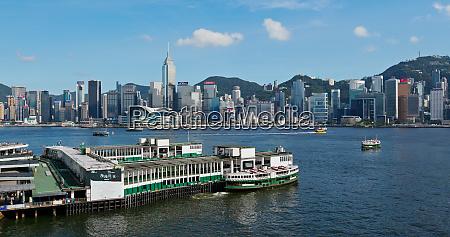 victoria harbor hong kong 27 july