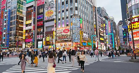 tokyo japan 26 june 2019 shinjuku