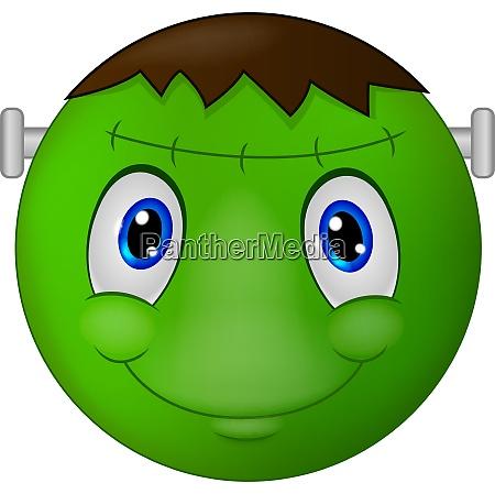 zombie emoticon smiley