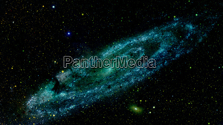 riesige spiralscheibe von sternen elemente dieses