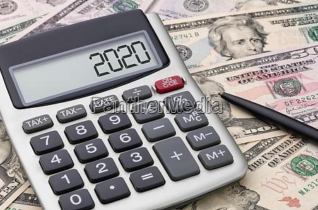 taschenrechner mit geld 2020