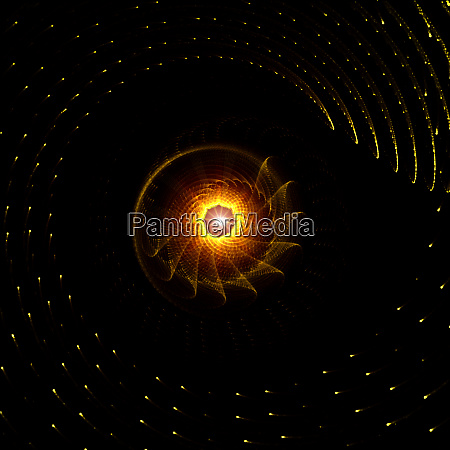 glowing golden rays background abstract concept