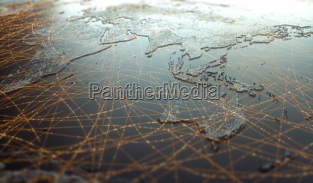 asia oceania digital technology connectivity world