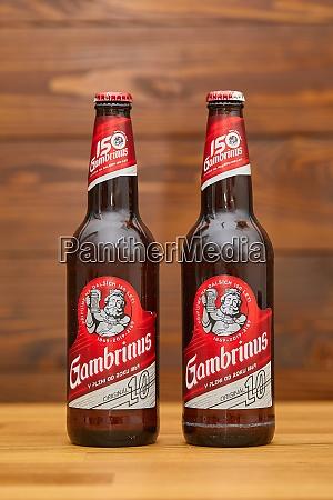 flaschen gambrinus tschechisches bier