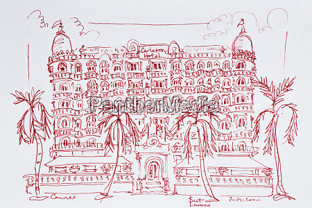 french art nouveau architecture of the