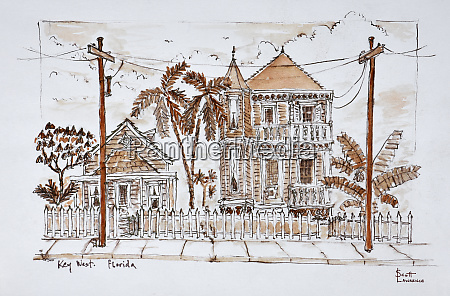 victorian style conch houses key west