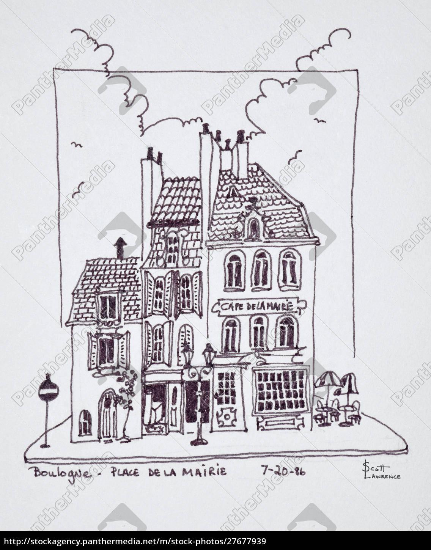 cafe, de, la, mairie, in, der - 27677939