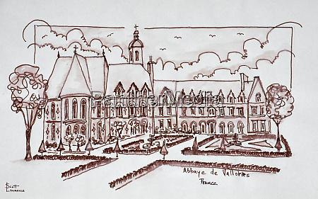 abbaye de valloires argoules france
