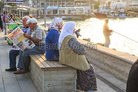 turkey izmir province kusadasi along the