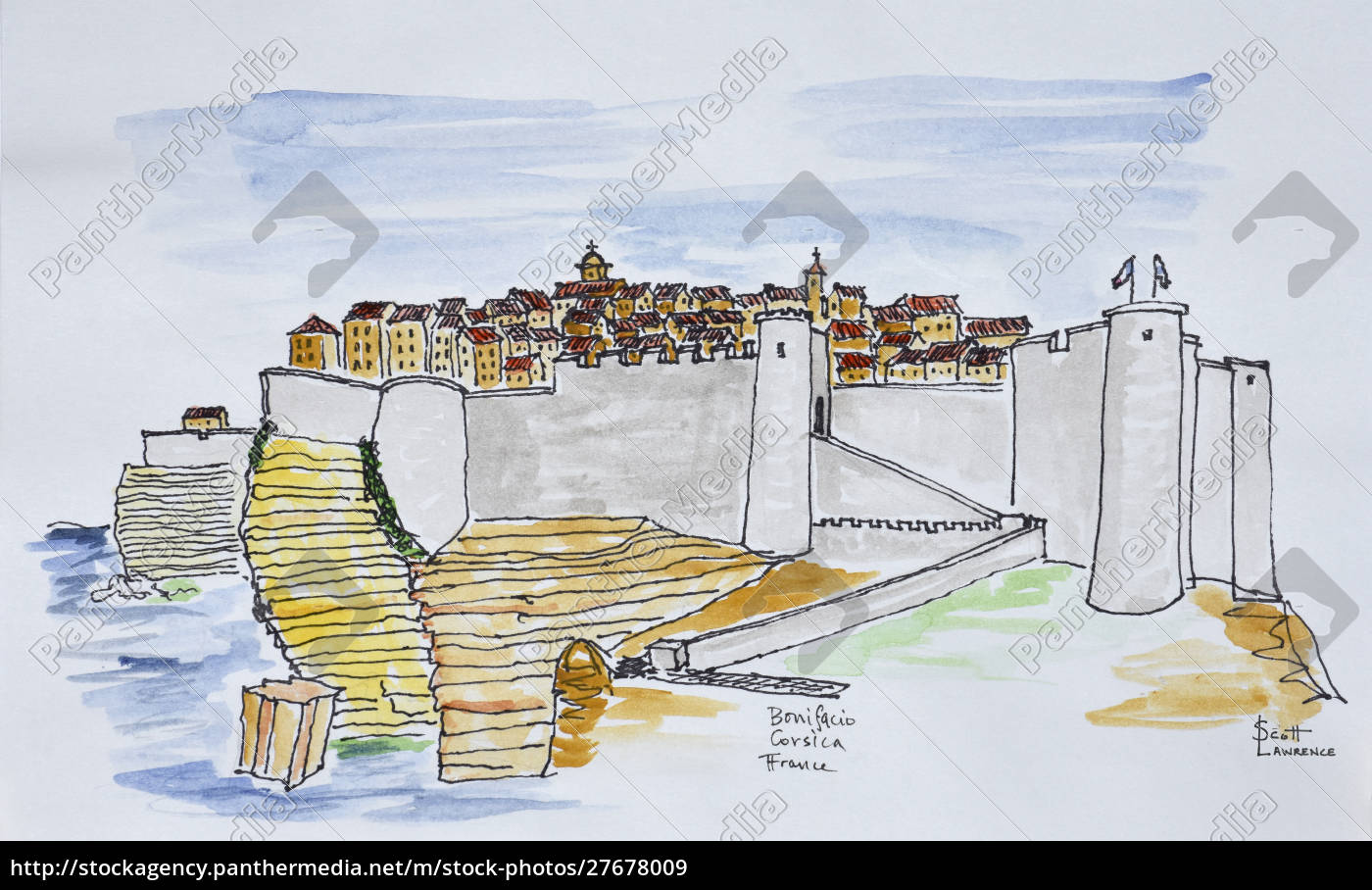 fortress, surrounds, the, cliffside, city, of - 27678009