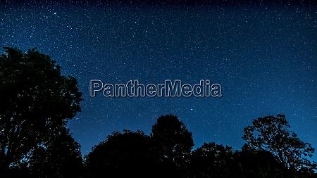 sternenhimmel landschaft
